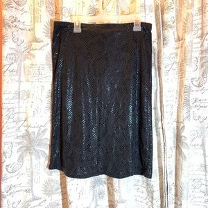 GUESS ♥️ Sneak Imitation Fabric Skirt